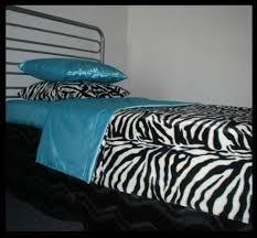 Zebra Bedroom Set Zebra Print Bedding Set