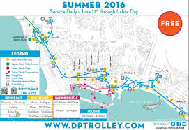 Trolley San Diego Map by Dana Point Trolley Free Summer Daily Service Starts Friday June 17