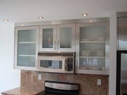 Replace Kitchen Cabinet Doors Kitchen Interior Kitchen Tiny Kitchen Cabinet With Frosted Glass