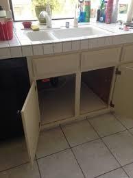sink kitchen cabinet base repair water damaged kitchen cabinet repair