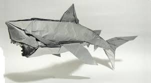great white shark origamiyard