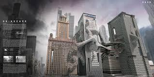 skinscape morphing contiguous skyscrapers evolo architecture