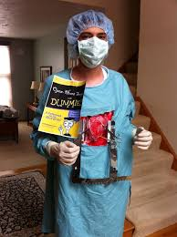 diy heart surgery costume with pictures