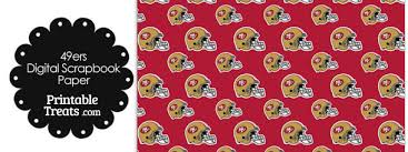 football wrapping paper san francisco 49ers football helmet digital paper printable