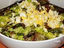 cuisiner des haricots verts salade verte aux haricots verts et oeufs la tendresse en cuisine