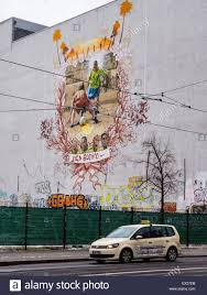 Football Wall Murals by Berlin Public Street Art Joga Bonita Wall Mural Football The