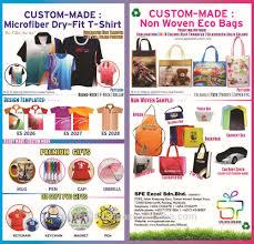 non woven bags custom made eco bag penang merry christmas gift