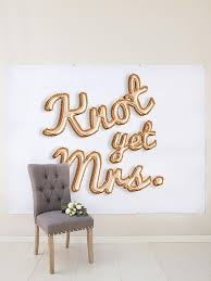 wedding backdrop font gold balloon letters back drop for bridal shower or bridal