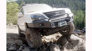 lexus rx 350 off road installing a metal tech goblin off road front bumper on your gx470