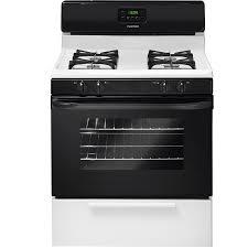 lowes appliances sale black friday shop tappan freestanding 4 2 cu ft gas range black white common