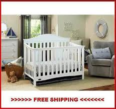 graco harbor lights convertible crib white toddler daybed full