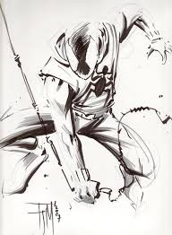scarlet spider sketch francis manapul in dennie blackwood u0027s