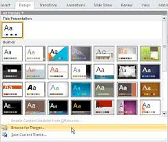 using powerpoint templates using templates in powerpoint 2016 for