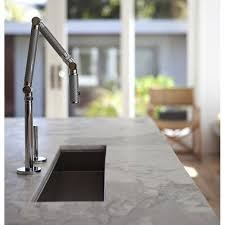 kohler karbon kitchen faucet kohler k 6227 c11 cp karbon polished chrome silver one handle