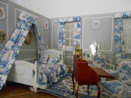chambre toile de jouy miniature chambre toile de jouy