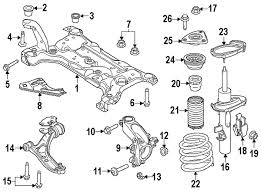 ford focus suspension diagram parts com ford arm asy front suspension partnumber f1fz3078a