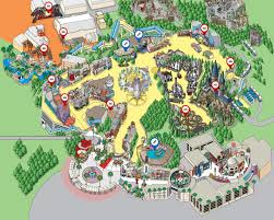 Florida Attractions Map Park Map Universal Studios Hollywood