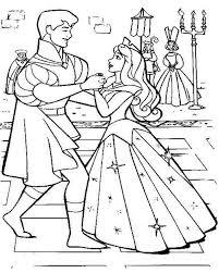 princess aurora wedding dance with prince phillip in sleeping