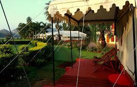 air conditioned tents the ummaid bagh resort bundi rajasthan india