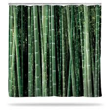 birch and bamboo shower curtains thinkgeek