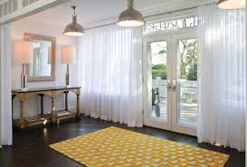 lovely entryway rugs contemporary with yellow and white design for