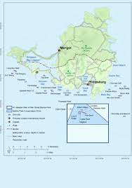 St Martin Map Resources St Maarten Nature Foundation