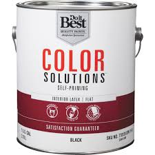 do it best color solutions latex self priming flat interior wall