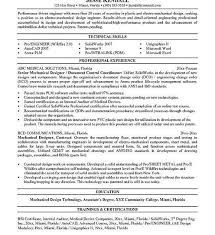 Sample Resume Of Experienced Mechanical Engineer Manufacturing Engineer Sample Resume Resume Engineering Skills