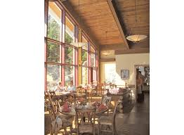The Cliff House Dining Room Stowe Resort Rcwa Architects Pittsfield Vermont