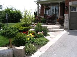 Front Lawn Landscaping Designs by Awesome Suburban Front Yard Landscaping Ideas Photo Decoration