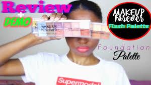 makeup flash palettes foundation palette review demo