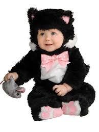 Toddler Cat Halloween Costume Inky Black Kitty Costume Baby Cat Halloween Costumes