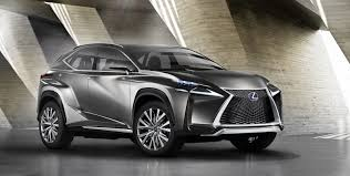 lexus nx 300h electric range lexus lf nx compact crossover concept previews production 2015