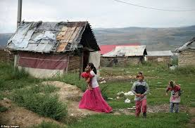 map uk villages at home with the roma remote villages where struggle with