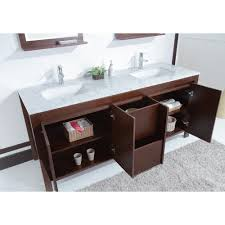 galant 72 inch contemporary double sink bathroom vanity with