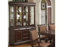 Bakers Rack Jackson Tn Crown Mark Louis Phillipe Buffet And Hutch With Three Glass Doors