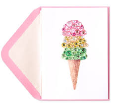 gem cone birthday cards papyrus