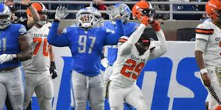 Cleveland Browns Flag Reactions To Detroit Lions U0027 Win Over Cleveland Browns