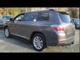 2013 toyota highlander limited accessories 2013 toyota highlander hybrid limited silver 5