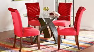 red dining room set home design ideas