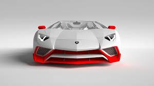 Lamborghini Aventador Front View - a unique modification of aventador superveloce