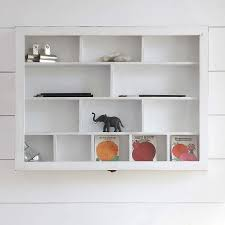this versatile 13 compartment shabby chic wooden shelf unit is