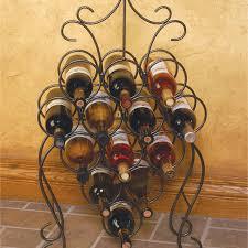 oenophilia arch 8 bottle floor standing wine rack hayneedle