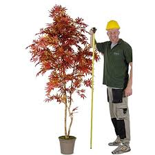 arredo interno acero rosso albero artificiale da arredo interno con tr https