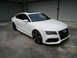 audi rs7 used audi rs7 2013 4 0 in selangor automatic white for rm 799 000