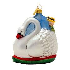 swan boat ornament swan boats