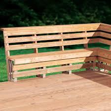 Build Deck Bench Seating Deck Bench Brackets Photo Doherty House Deck Bench Brackets