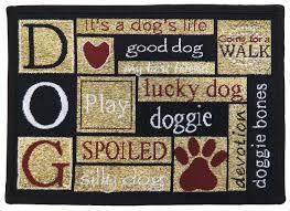 jelly bean indoor outdoor rugs amazon com fun indoor outdoor 13 u201d x 19 u201d paw print tapestry floor
