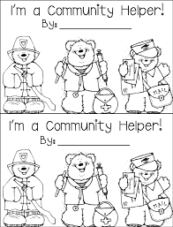 community helpers coloring pages within community coloring page