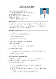 formats for a resume best format for a resume